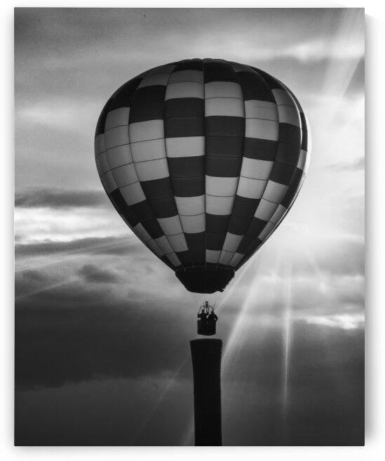 Hot Air Balloon On A Smokestack by Bob Orsillo