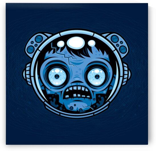 Zombie Astronaut by fizzgig