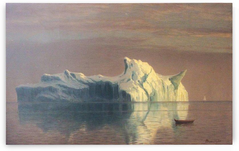 The Iceberg by Albert Bierstadt