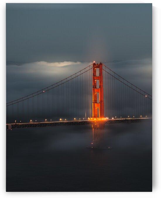 Golden Gate Glow by Keith Hatcher
