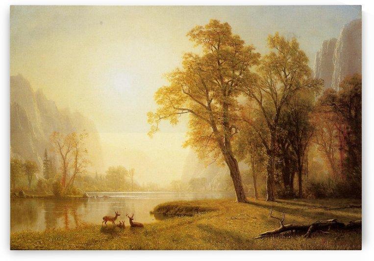 Kings River Canyon California by Albert Bierstadt