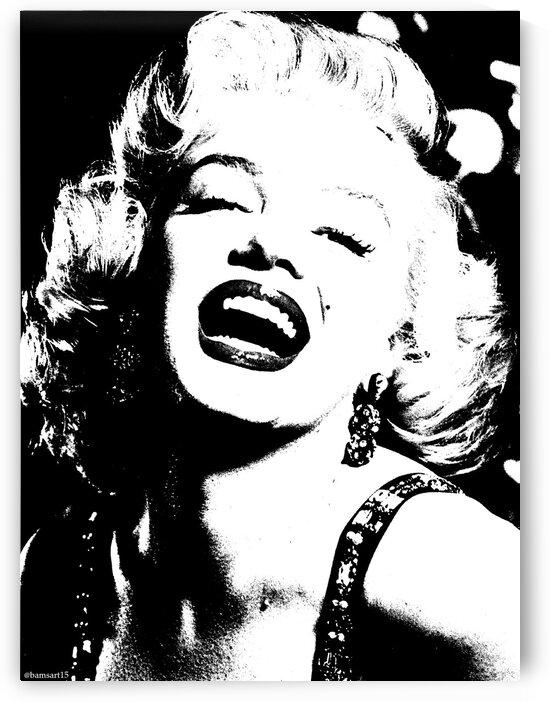 Marilyn Monroe by Bam Wilcox