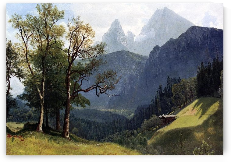 Tyrolean Landscape by Albert Bierstadt