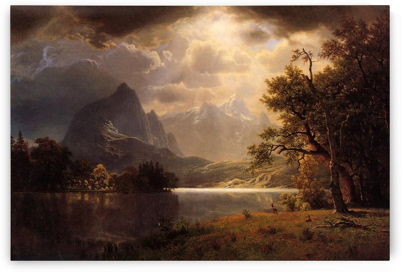 Estes Park, Colorado, 1869 by Albert Bierstadt