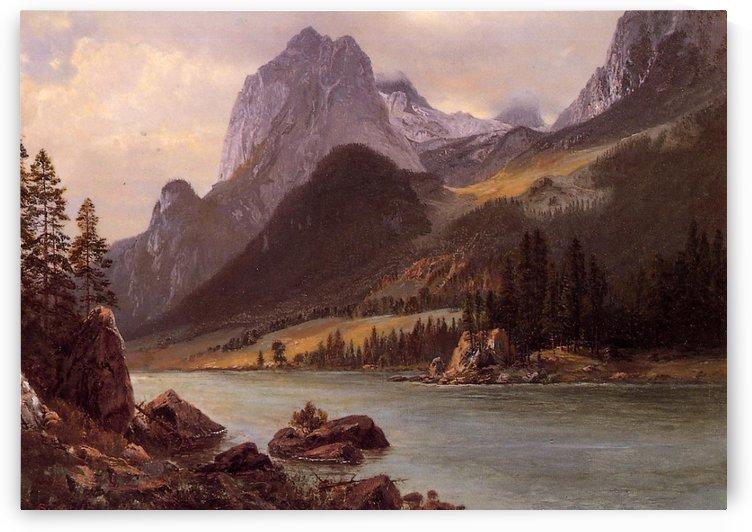 Rocky Mountain by Albert Bierstadt
