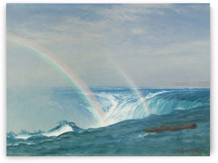 Rainbows by Albert Bierstadt