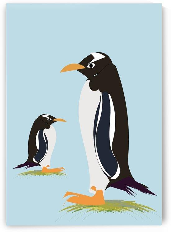 Gento Penguin by Sarah Butcher