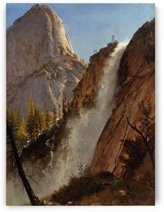 Liberty Cam, Yosemite by Albert Bierstadt