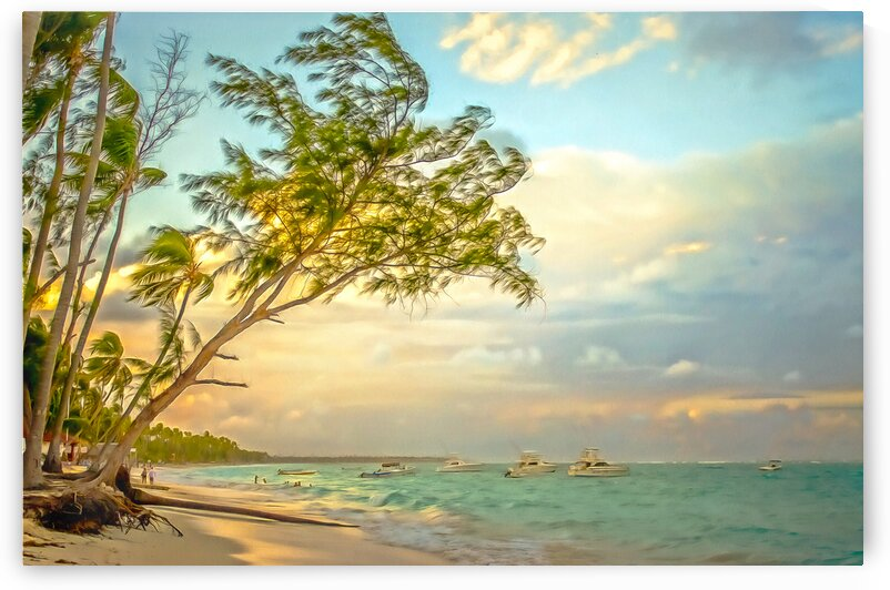 Punta Cana Beach    by M Damien Suriel