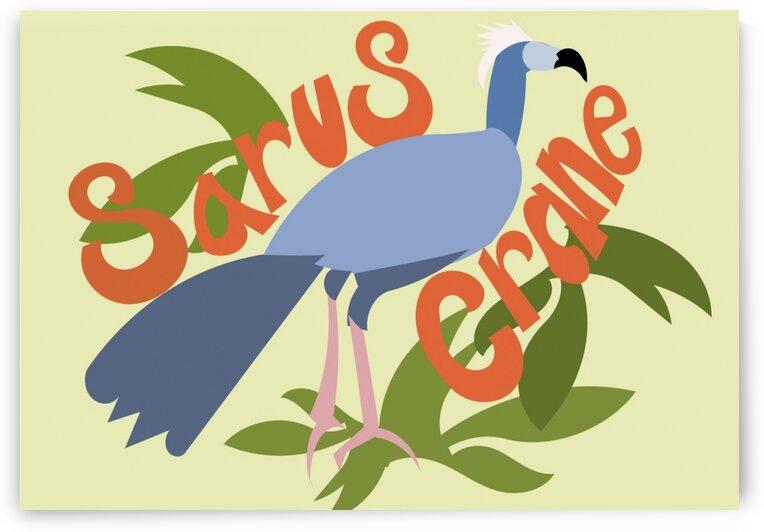 The Sarus Crane by Sarah Butcher
