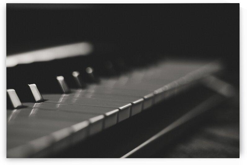 Black and White Blur Classic Dark Ebony Focus by 7ob