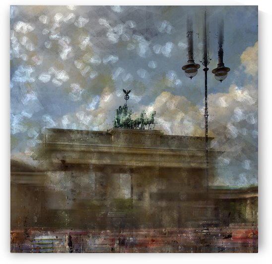 City-Art BERLIN Brandenburger Tor II by Melanie Viola