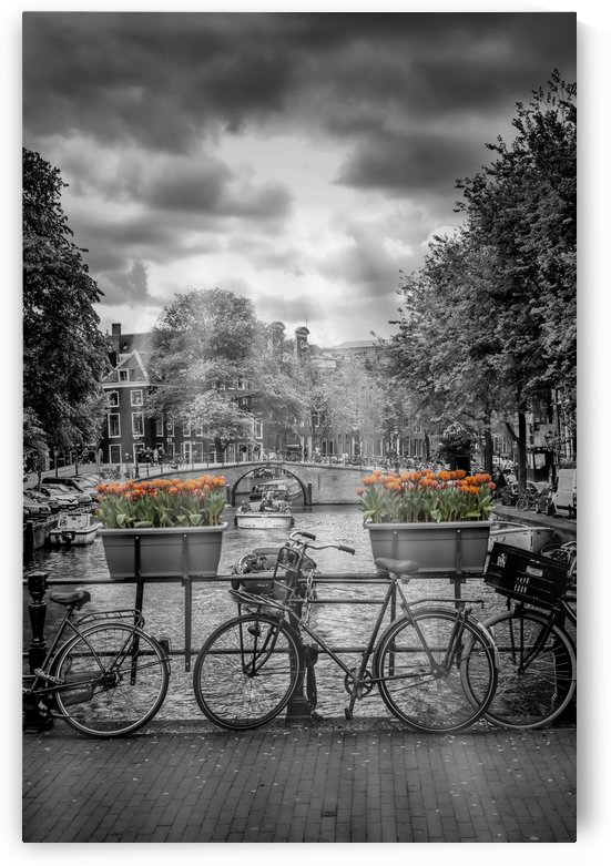 Gentlemens Canal AMSTERDAM by Melanie Viola