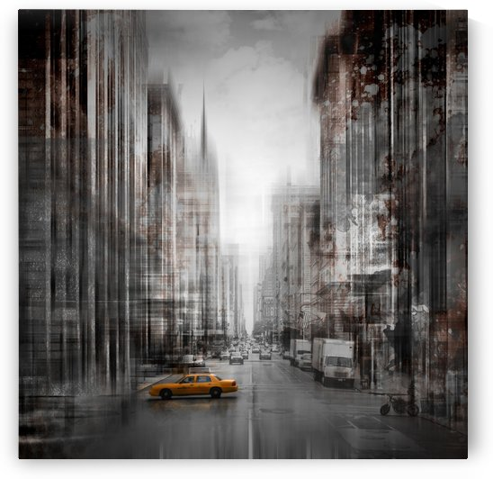 City-Art NYC 5th Avenue by Melanie Viola