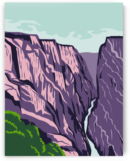 Black Canyon of Gunnison National Park by Artistic Paradigms