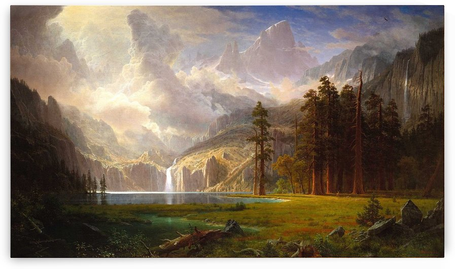 Mount Whitney by Albert Bierstadt
