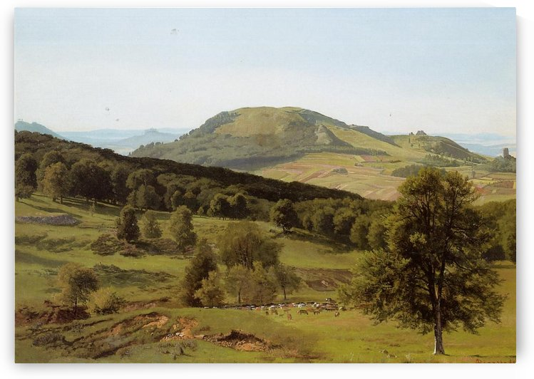 Landscape Hill and Dale by Albert Bierstadt