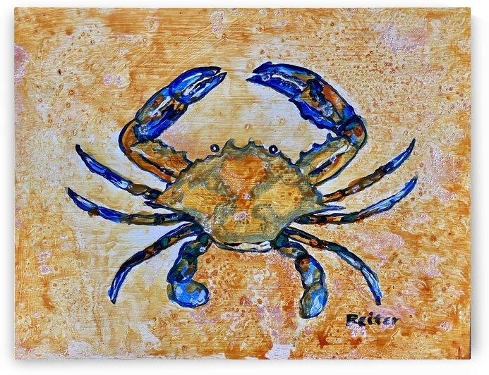 Blue Crab by Reiter Art Works