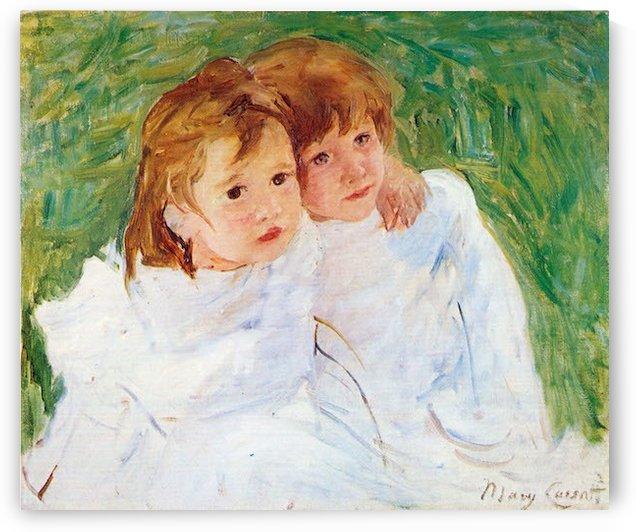 The sisters by Cassatt by Cassatt