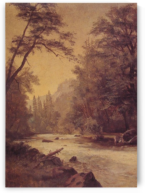 Lower Yosemite Valley by Albert Bierstadt