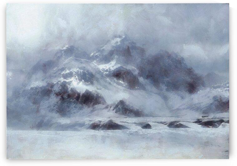 Winter in Deer Valley  Utah by Steven Sandner