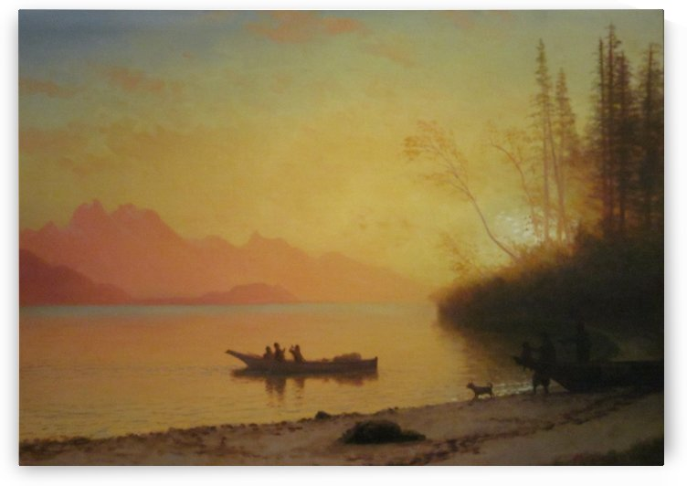 Donner Lake by Albert Bierstadt