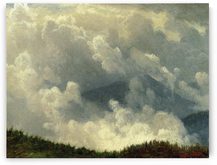 Mountain Mist by Albert Bierstadt