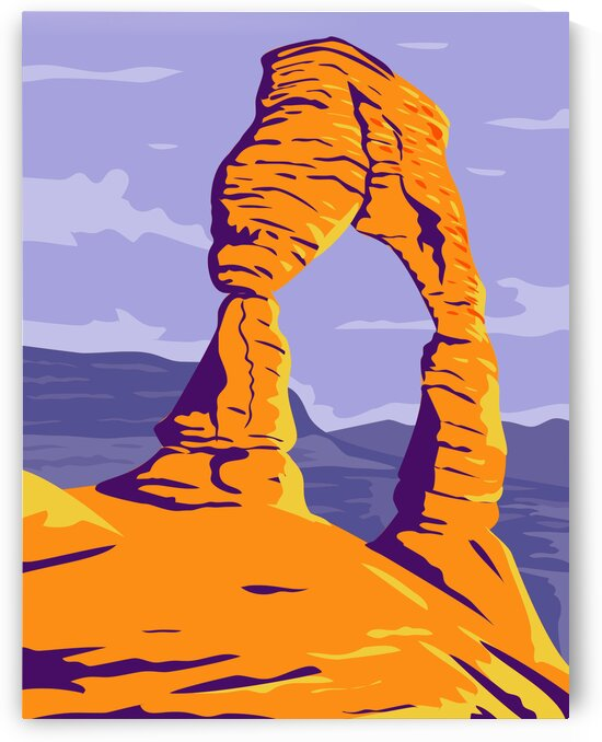 Delicate Arch Utah by Artistic Paradigms