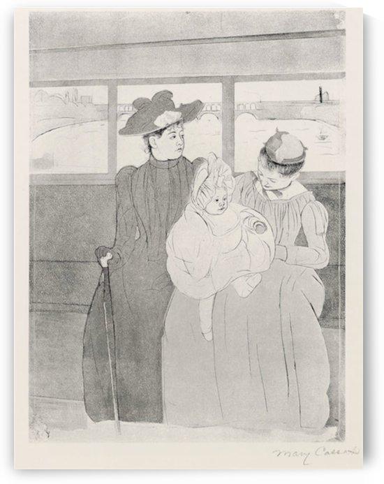 The streetcar by Cassatt by Cassatt