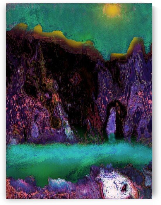 Mountain lake by Helmut Licht