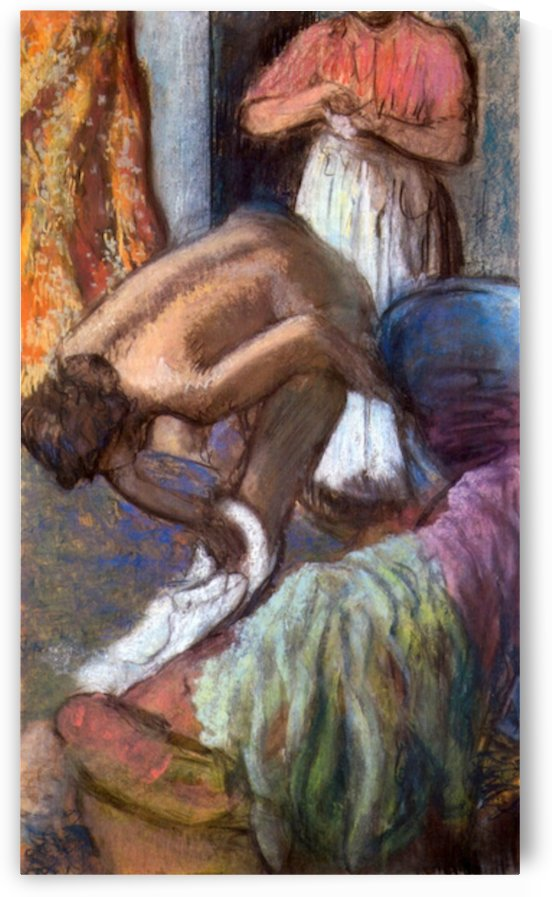 The strengthening after the bathwater by Degas by Degas