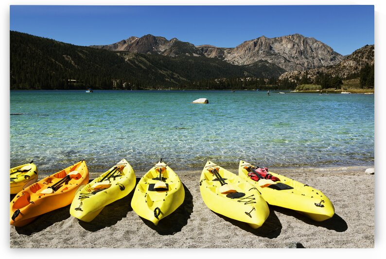 June Lake Is a Census Designated Place in Mono County  California. by 7ob