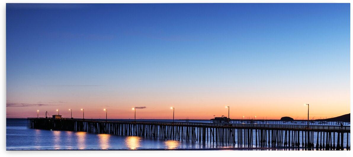 The Avila Beach Pier at Sunset. by 7ob