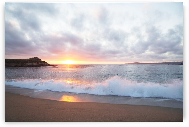 Pacific Coast Sunset at Monterey  California. by 7ob