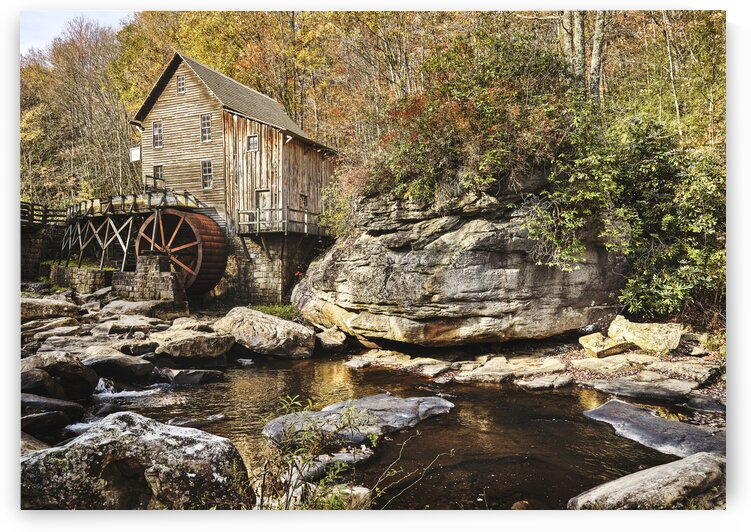 The Glade Creek Grist Mill. by 7ob