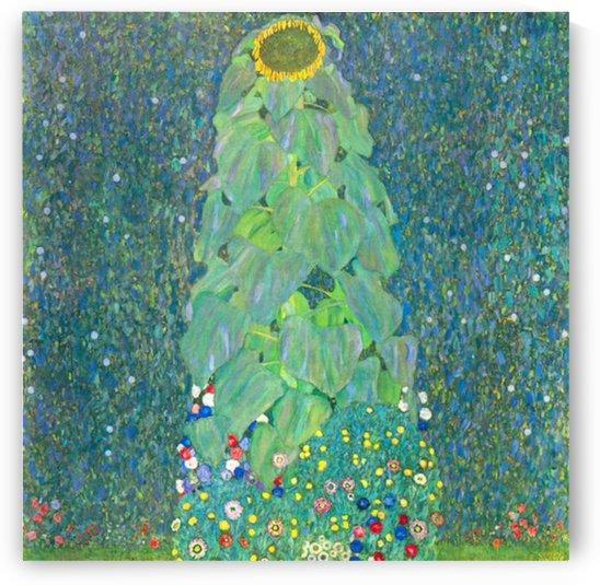 The Sunflower by Klimt by Klimt