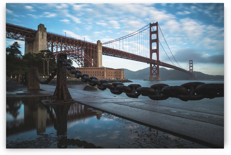 View of the Golden Gate Bridge  San Francisco  United States by 7ob