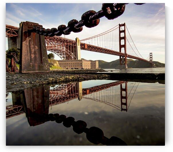 The Golden Gate Bridge  San Francisco  United States. by 7ob