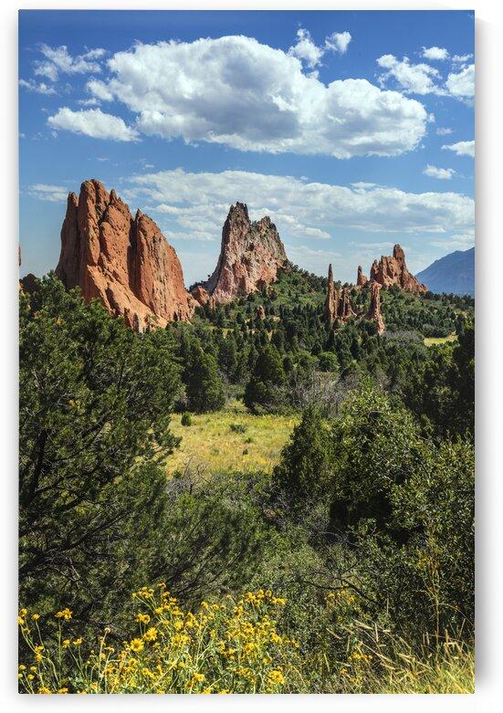 The Garden of the Gods  a public park in Colorado Springs  Colorado USA by 7ob