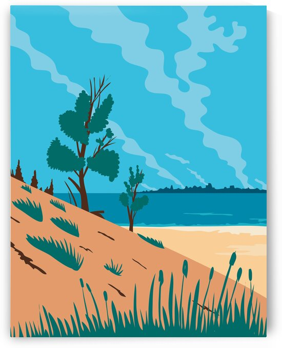 Indiana Dunes National Park by Artistic Paradigms