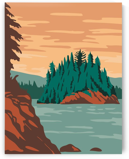 Isle Royale National Park by Artistic Paradigms