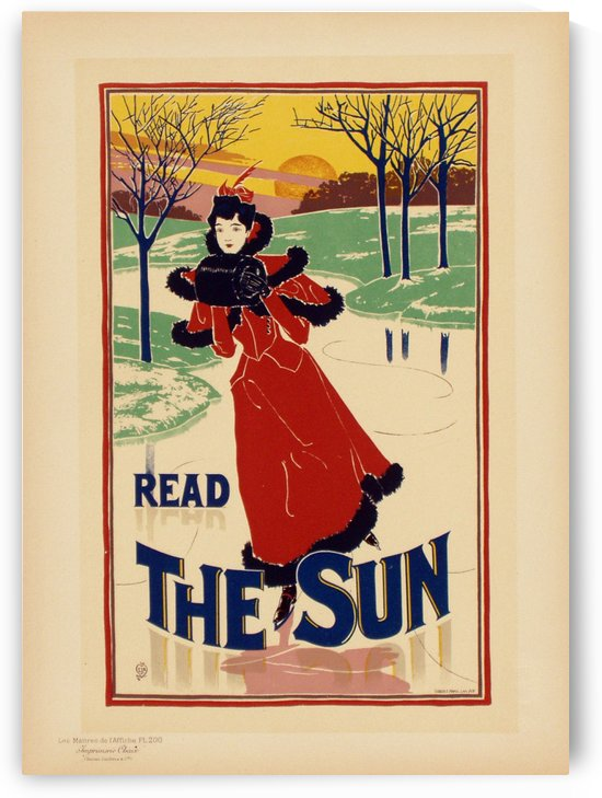 Read The Sun by VINTAGE POSTER