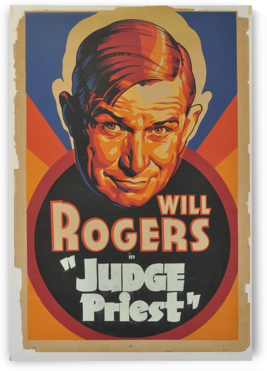Will Rogers in Judge Priest by VINTAGE POSTER