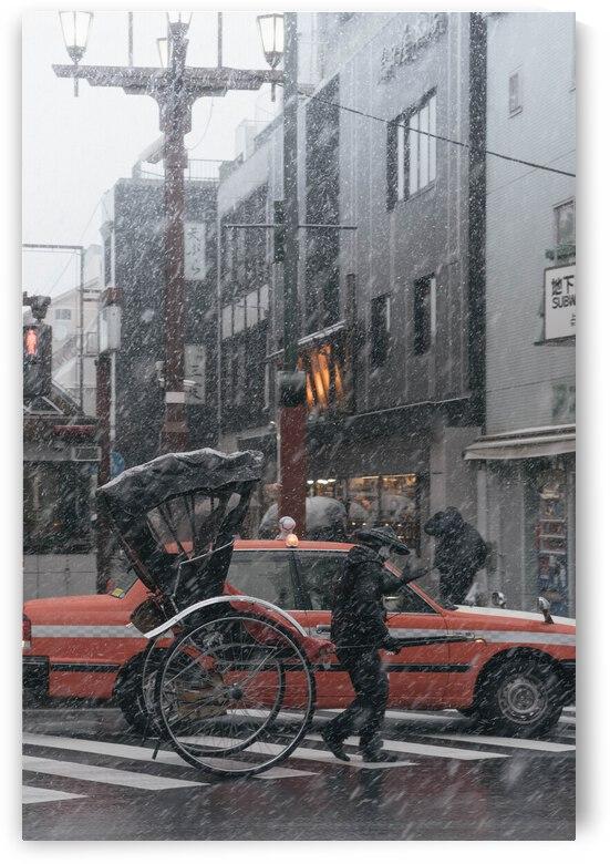 Buildings City Cloudy Crossroad Crosswalk Dimmed Japan Lam Post by 7ob