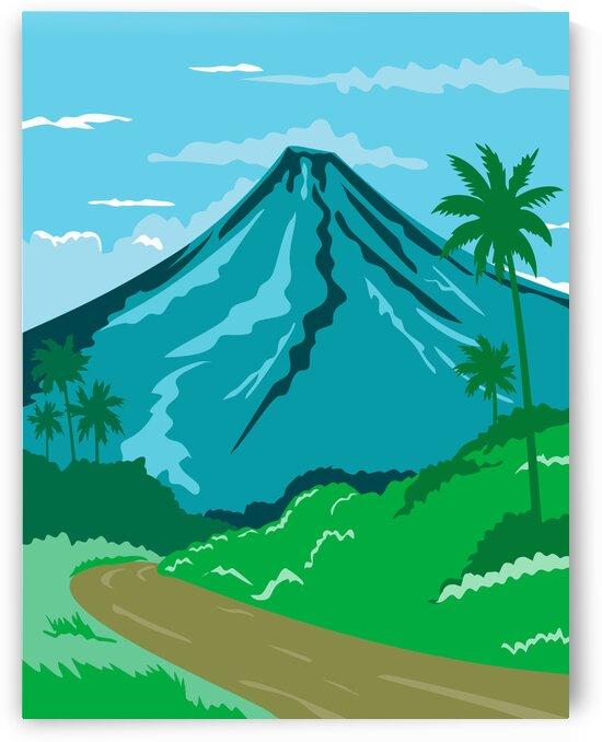 Mayon Volcano by Artistic Paradigms