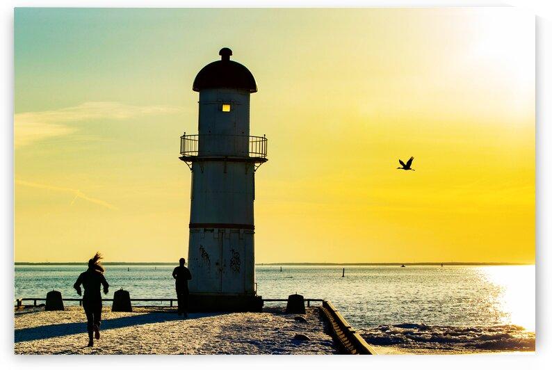 Lighthouse jog by DroDellaPhoto