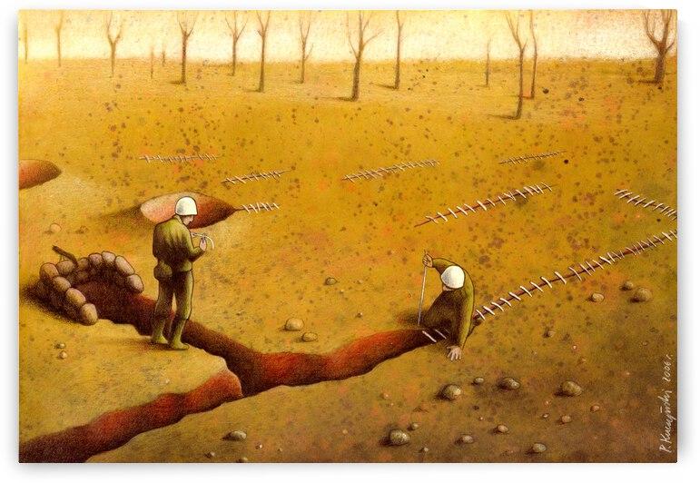 trenches by Pawel Kuczynski