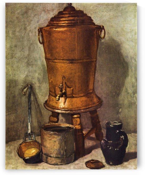 The water tank by Jean Chardin by Jean Chardin