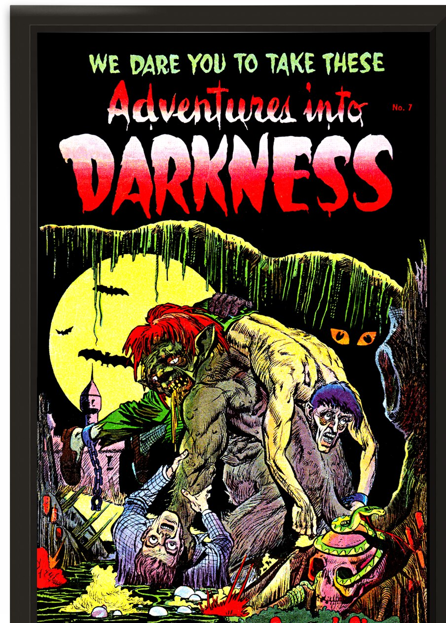 Darkness 17 - The Swamp Monster_OSG by One Simple Gallery