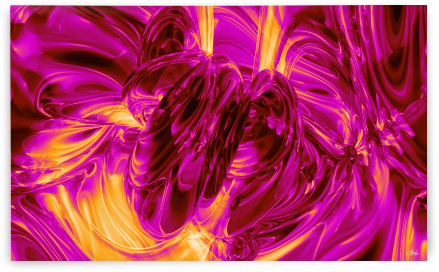 Pink Glass by George Bloise
